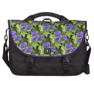 Monkshood, Aconitum maximum Laptop Bags