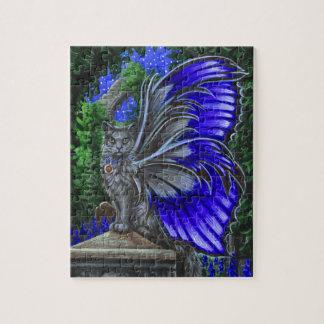 Monkshood Gray Fairy Cat Puzzle
