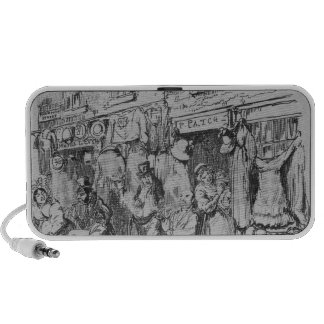 Monmouth, illustration from 'Sketches by Boz' Portable Speakers
