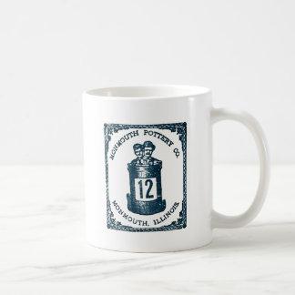 Monmouth Pottery Company, Illinois Stoneware Coffee Mug