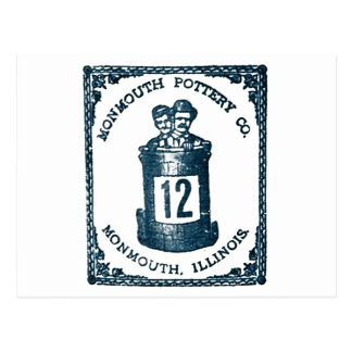 Monmouth Pottery Company, Illinois Stoneware Postcard