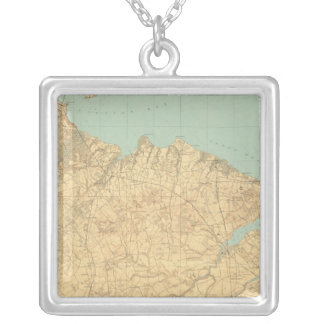 Monmouth Shore, New Jersey Silver Plated Necklace