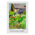 Monmouthshire Garden Poster or Print print