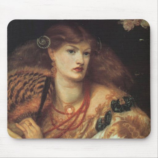 Monna Vanetta by Rossetti Mouse Pad