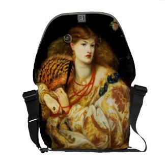Monna Vanna - Rossetti - 1866 Vintage Art Commuter Bag