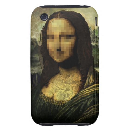 MONNAPIXED TOUGH iPhone 3 COVER