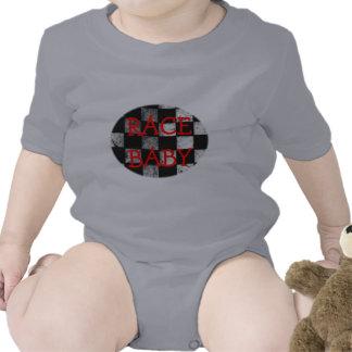 Mono a cuadros del personalizable de la bandera traje de bebé