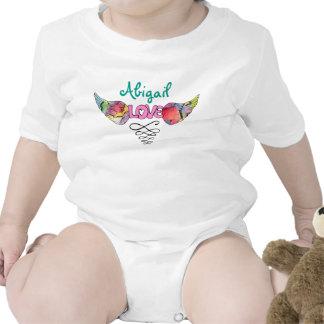 Mono adaptable con diseño con alas del AMOR Traje De Bebé