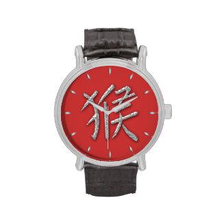 mono - astrología china relojes de pulsera