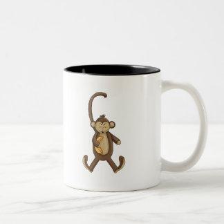 Mono atado largo taza de café