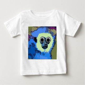 Mono azul con los ojos Googly Poleras