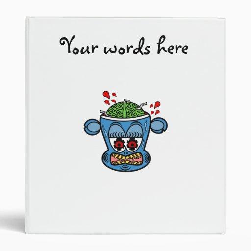 Mono azul del zombi