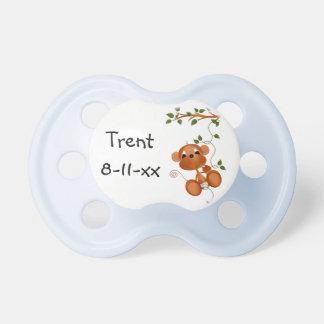 Mono azul modificado para requisitos particulares  chupetes para bebés