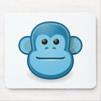 Mono azul alfombrillas de raton