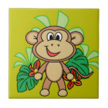 mono azulejo