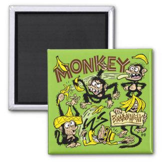 ¡Mono - Bananarchy! Imán