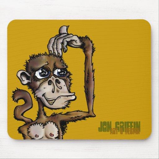 Mono Bizness-JGAD, grifo de Jon, arte y diseño Mousepad