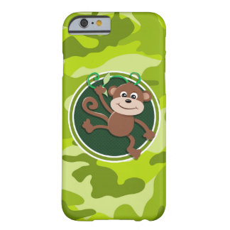Mono; camo verde claro, camuflaje funda de iPhone 6 barely there