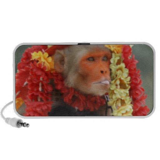 Mono ceremonial hindú iPod altavoz