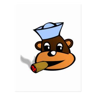 Mono cigarro ape cigar postales