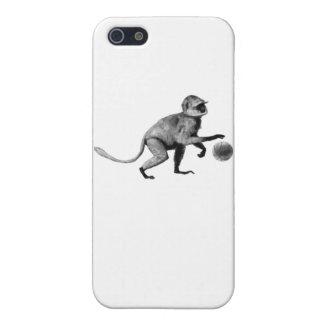 Mono de araña del baloncesto iPhone 5 funda