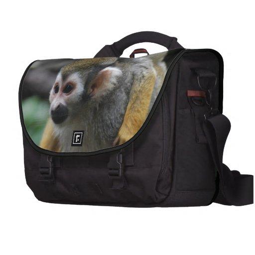 Mono de ardilla bolsas de portatil