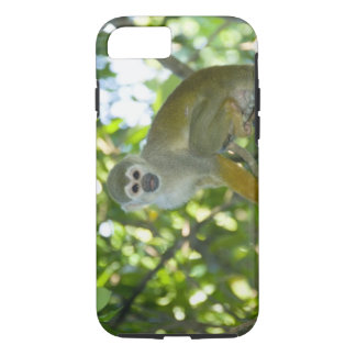 Mono de ardilla común (sciureus) del Saimiri Río Funda iPhone 7