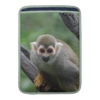 Mono de ardilla dulce fundas para macbook air