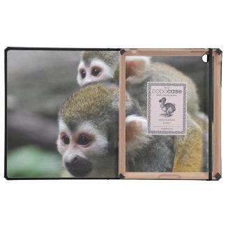 Mono de ardilla lindo iPad cobertura