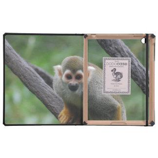 Mono de ardilla lindo iPad funda