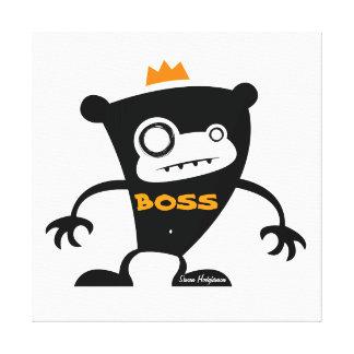 Mono de Boss Impresión En Lienzo