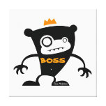 Mono de Boss Impresión En Lona Estirada