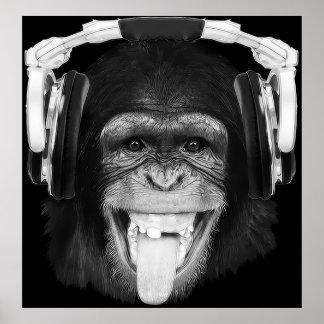 Mono de DJ Posters