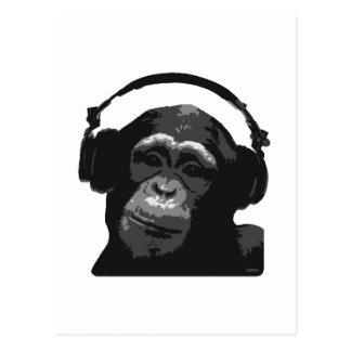 MONO DE DJ TARJETAS POSTALES