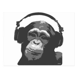 MONO DE DJ POSTALES