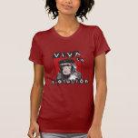 Mono de Evolucion del la de Viva Camiseta