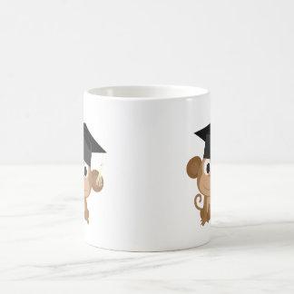Mono de Gruaduation Taza De Café