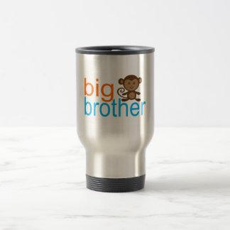 Mono de hermano mayor taza de viaje de acero inoxidable