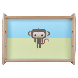 Mono de Kawaii Bandejas