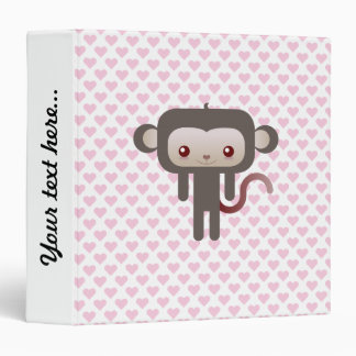 "Mono de Kawaii Carpeta 1 1/2"""