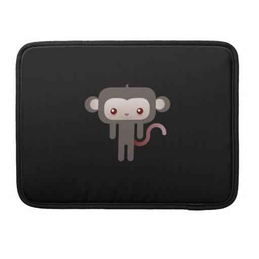 Mono de Kawaii Fundas Para Macbooks