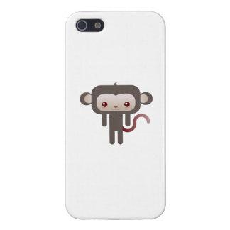 Mono de Kawaii iPhone 5 Protector