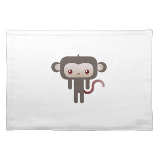 Mono de Kawaii Mantel Individual