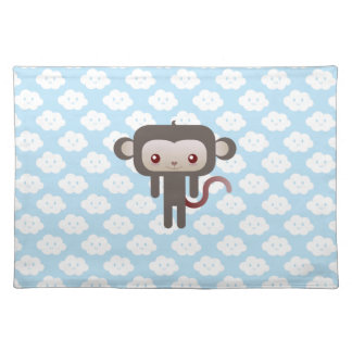 Mono de Kawaii Manteles Individuales