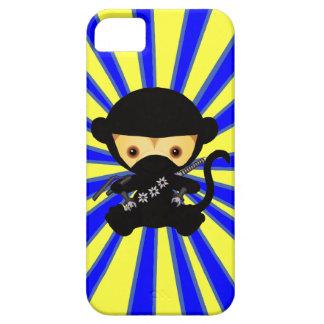 Mono de Kawaii Ninja iPhone 5 Case-Mate Fundas