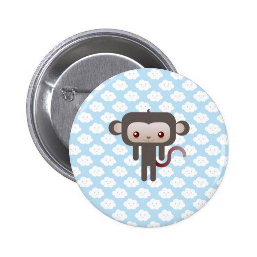 Mono de Kawaii Pin