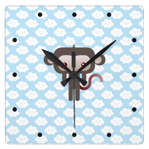 Mono de Kawaii Relojes