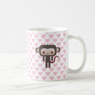 Mono de Kawaii Taza De Café