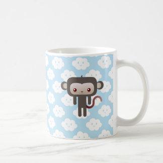 Mono de Kawaii Taza