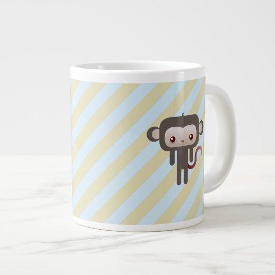 Mono de Kawaii Taza De Café Grande